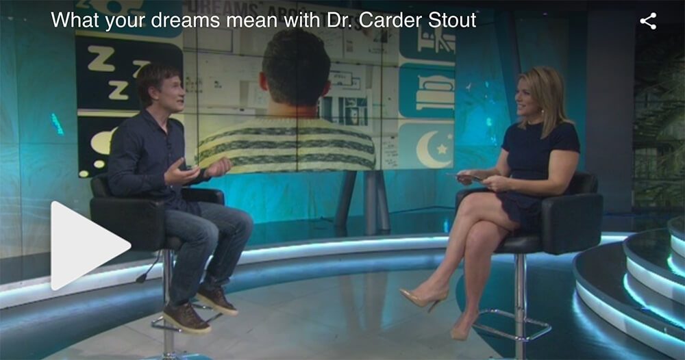 What your dreams mean with Dr. Carder Stout